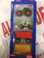 Siku 6304 Model Toy Farming Agri Gift Set Toy Replica Diecast Model Claas Fendt