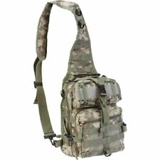 """11"""" Digital Camo Sling Backpack Military Tactical Bag Hiking Camouflage Day Pack"""