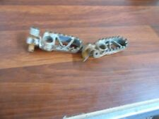 1989 KAWASAKI KX250 KX 250 FOOT PEGS FOOTPEGS