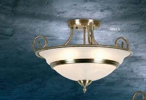 Deckenleuchte Deckenlampe Lampen Ø 50 cm Leuchten Leuchte Klassisch Lampe NEU