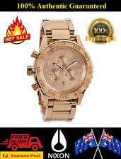 Nixon A037897 42-20 Ladies Rose Gold Chronograph Analog Watch