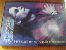 µ? DVD Ozzy Osbourne Don't Blame me The tales of ozzy