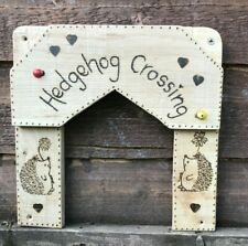 More details for hedgehog crossing for garden fence or gate