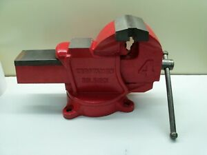 """Sears Craftsman 4"""" Vise 391-51201 NEW OLD STOCK  Mint! With Box and Papers"""