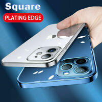 Clear Case For iPhone 12 Pro Max 12 11 XS X 8 Soft TPU Cover Shockproof Silicone
