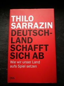 """#### gebundenes Buch """"Deutschland schafft sich ab"""" von Thilo Sarrazin #####"""