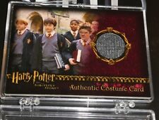 HARRY POTTER Sorcerer's Stone Gryffindor Students Authentic Costume Card 329/460