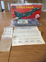AIRFIX F-15A/B EAGLE 1/72 MODEL KIT SERIES 5 (05015-7) - CONTENTS STILL SEALED