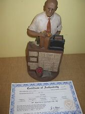 "Tom Clark*Builder's Series ""Mr Jim"" Ink Signed*store gnome statue certificate"
