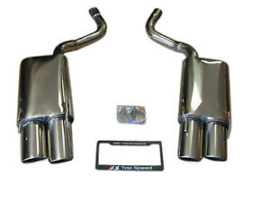 Mercedes Benz W216 CL500 CL550 CL600 07-10 T304 Axle Back Exhaust Systems