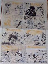 CLEMENTE REZZONICO ORIGINAL ART PAGE JUNGLE COMIC ARGENTINA 1961