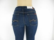 NWT 7 SEVEN FOR ALL MANKIND, Kimmie Crop/Contour waist Skinny, HMD, Size 28,