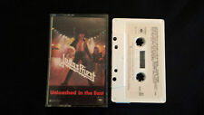 "JUDAS PRIEST "" UNLEASHED IN THE EAST "" CASSETTE TAPE (LIVE IN JAPAN)"