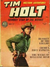 TIM HOLT COMICS GOLDEN AGE COLLECTION PDF ON CD