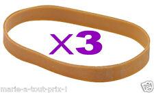 Lot de 3 très grands Bracelets Elastiques liasse 200 x 16mm extension 55cm !