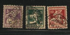 Switzerland  B4-6     used   catalog   $124.00          AP1218-01