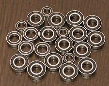 (22pcs) HPI 1:8 VORZA FLUX 4WD BUGGY Rubber Sealed Ball Bearing Set