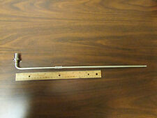 Semi-Rigid Coax Jumper 18 Inch With Panel Mount N Connector New