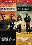 BAD BOYS & BAD BOYS II COMPLETE 2 FILM SERIES 2 DVD DISC SET DOUBLE FEATURE W/S