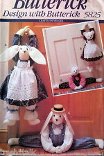 Door Draft blocker stopper dodger pattern bunny rabbit tedddy bear FF