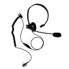 Ultra Lightweigh Single Sided Muff Earphone for Vertex VX-160 VX-180