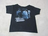 ZZ Top Concert Shirt Adult Large Black Rock N Roll Band Tour Music Mens H*