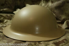 Canadian/ Brodie Helmet WWII Authentic Stamped 1940/41/42/43 Mk II/ Olive Drab