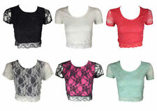 Unbranded Lace Floral Tops & Shirts for Women