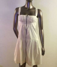 Lovely Burberry dress. White. Made in Italy. Zipper in front. U.S. Size 6