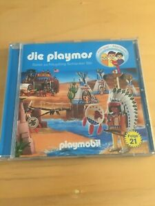 Die Playmos 21 Reise zu Häuptling Schlanker Bär, 1 Audio-CD Playmobil
