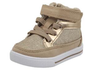 OshKosh B'gosh Toddler Girl's Ginger2 Pink High-Top Sneakers Shoes Sz: 7T