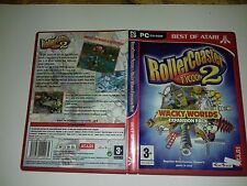 Rollercoaster Tycoon 2 Wacky Worlds Expansion Pack pc game