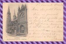 CPA 14 - POSTAL-BAYEUX - Los flechas de postal- la catedral