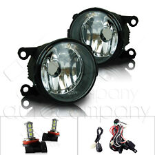 For 2006-2008 Mitsubishi Endeavor Fog Lights w/Wiring Kit & LED Bulbs - Clear