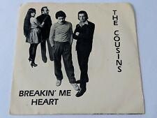 The Cousins Breakin' Me Heart/Shadows In The Dark - IN-C'EST Records LP 45 RPM