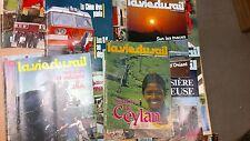 lot 14 magazines vie du rail années 80 special ASIE CHINE port offert