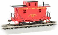 Bachman 18407 HO Bobber Caboose D&RG New Free Shipping