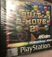 Bust A Move 2 - PS1 Sony Playstation 1 Game Vintage Games Sealed With Flaws