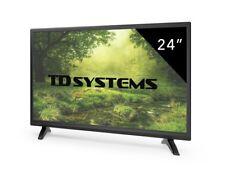 Televisores Led Full HD 24 Pulgadas TD Systems K24DLM7F. HDMI / USB / REG / VGA