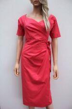 Vestiti da donna a manica corta rose in misto cotone