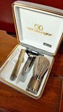 Accessori per la rasatura d'argento di arte e antiquariato