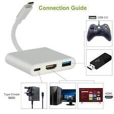 HDMI Type C Hub Adapter for Nintendo Switch, 1080P USB C Hub HDMI Converter