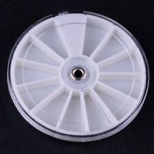 Empty Wheel Box Case Nail Art Rhinestones Slice Fimo Gems Glitter Y003-1 NEW