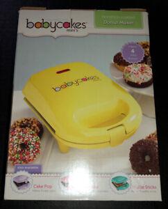 NOB Babycakes MINI Donut Maker Machine Baking Kitchen - 6 Donuts - Model DNM-30