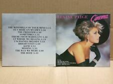 Elaine Paige Cinema OST Bright Eyes 1984 Germany CD FCS9652