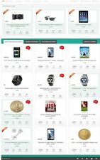 ONLINE AUCTION WEBSITE BUSINESS FOR SALE! MOBILE RESPONSIVE SITE