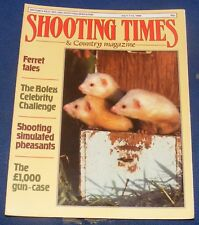 SHOOTING TIMES MAGAZINE JULY 7-13 1988 - FERRET TALES