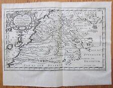 Sanson: Original Engraved Map of Canary Islands Morocco - 1660