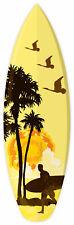 """SURFING BOARD sticker decal 2"""" x 7"""""""