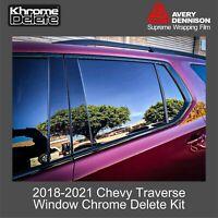 2016/_2020 BMW X1 Chrome Delete Kit